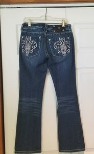 Miss Me Jeans - Miss Me Jean's boot cur sz 25